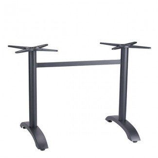 Restaurant Outdoor Table Bases Aluminum Lateral Base