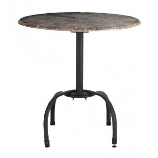 Restaurant Outdoor Table Bases Large Aluminum Bar Height Tulip Table Base