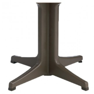 Restaurant Outdoor Table Bases Resin Pedestal Table Base 2000 4-Prong for Increased Stability