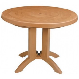 "Atlantis Grosfillex 38"" Round Folding Table"