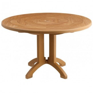 "Atlantis Grosfillex 48"" Round Table"
