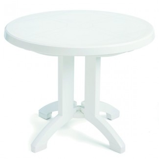 "Vega Grosfillex 38"" Round Folding Table"