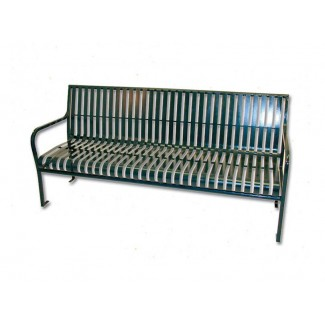 Ribbon 6' Commercial Steel Bench