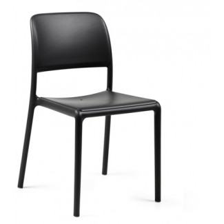 Riva Bistrot Side Chair Anthracite