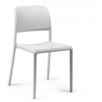 Riva Bistrot Side Chair Blanco