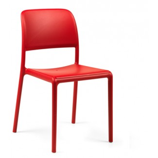 Riva Bistrot Side Chair Rosso