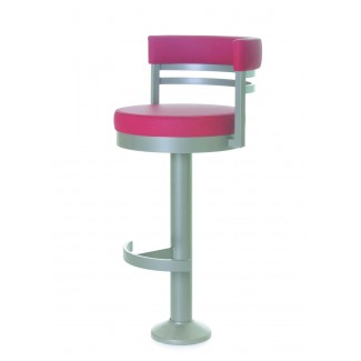 Ronny Pedestal Bar Stool