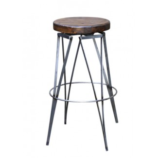 Saloon Swivel Bar Stool