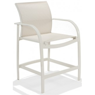 Scandia Relaxed Sling Balcony Height Stool