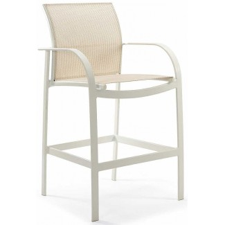 Scandia Relaxed Sling Bar Stool M4505S