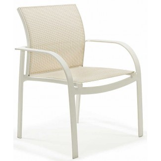 Scandia Relaxed Sling Stacking Dining Chair M4501S