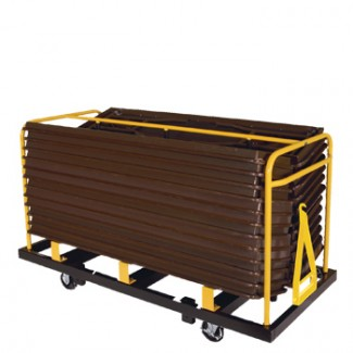 "Seminar Table Truck for 18"" x 60"" or 18"" x 72"" (20 Capacity)"