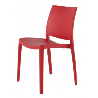 Sensilla Resin Hospitality Side Chair