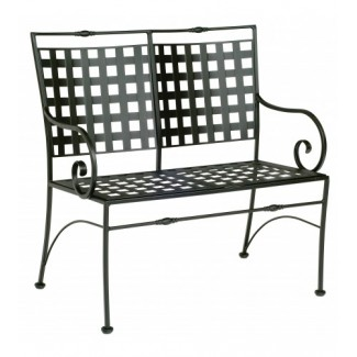 Wrought Iron Hospitality Benches Sheffield Bench