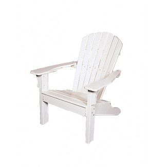 Shell Back Adirondack Arm Chair