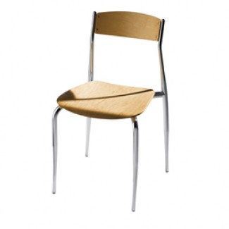 Side Chair with Wood Seat and Back 189
