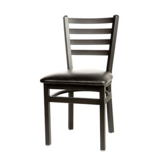 Silvervein Ladder Back Metal Dining Chair SL2160SV
