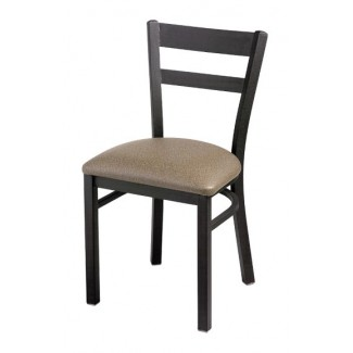 Slat Back Side Chair with Upholstered Seat 945