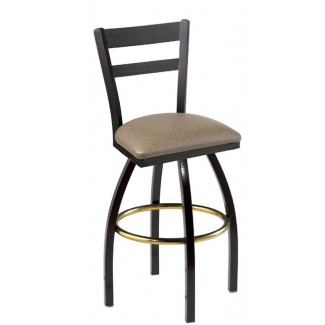 Slat Back Swivel Bar Stool 901/945