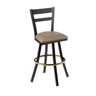 Slat Back Swivel Bar Stool 902/945