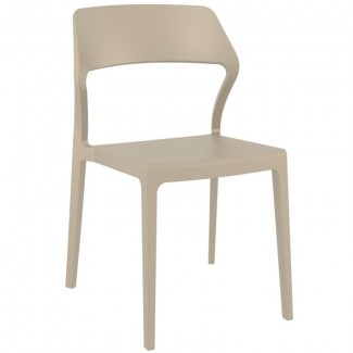 Snow Stacking Hospitality Side Chair