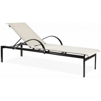Southern Cay Sling Chaise Lounge with Arms M66009A