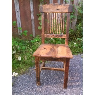 Speakeasy Reclaimed Wood Chair