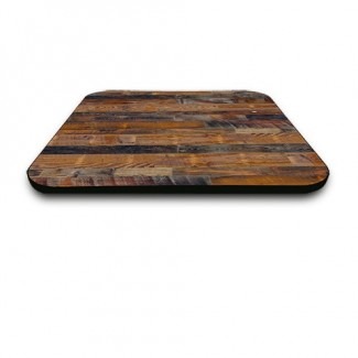 "24"" Square Laminate Table Top with Custom T-Mold Edge"