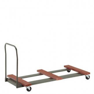 "Standard Duty Flat Table Cart 31"" x 74"" x 36"" Flat Stack"