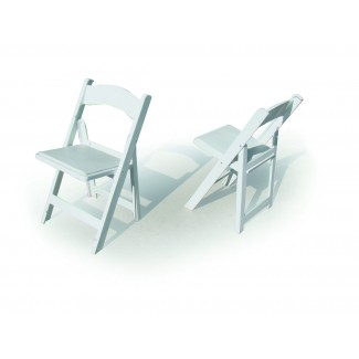 Structure Folding and Stacking Chair - White