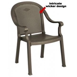 Grosfillex Sumatra stacking chair
