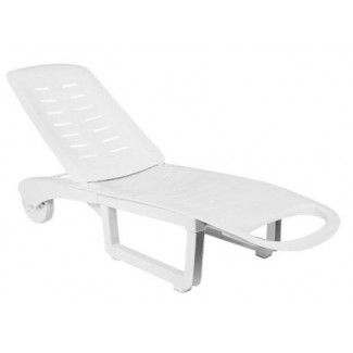 Sundance Chaise Lounge in White