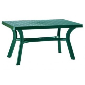 "Sunshine 31"" x 55"" Restaurant Dining Table in Green"