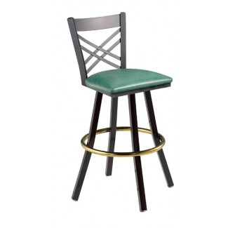 Swivel Bar Stool with Cross Back 902/942