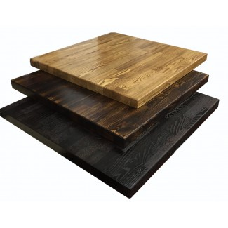 "30"" Square Antique Ash Table Tops"