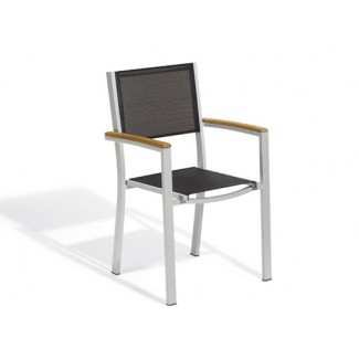 Travira Arm Chair - Black Sling
