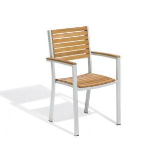 Travira Arm Chair - Teak