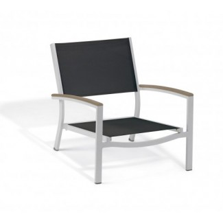 Carrillo Beach Chair - Black Sling - Tekwood Vintage