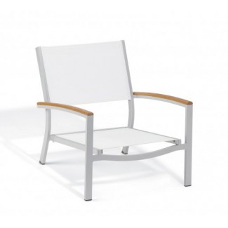Carrillo Beach Chair - Natural Sling - Teak