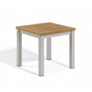 Carrillo Square End Table - Tekwood Natural