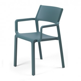 Trill Stackable Resin Hospitality Arm Chair