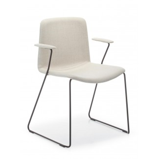 Pedrali Tweet Upholstered Arm Chair