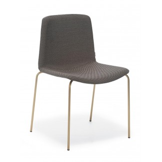Pedrali Tweet Upholstered Side Chair