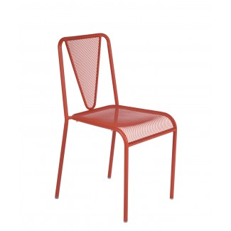 Valentino Outdoor Stacking Hospitality Side Chair