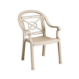 Grosfillex outdoor dining chairs