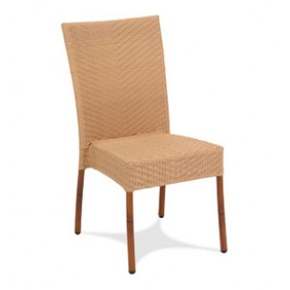 Vineyard Rattan Stacking Side Chair