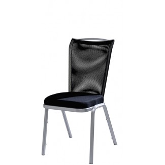 Vio Comfortmesh Back Aluminum Side Chair 04/1