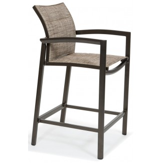 Vision Nesting Relaxed Padded Sling Bar Stool
