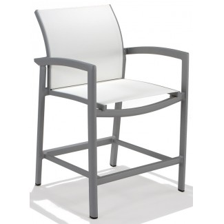 Vision Relaxed Sling Balcony Height Stool
