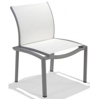 Vison Relaxed Sling Stacking Dining Chair M4401S